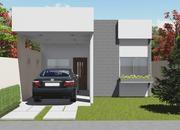 Planta de casa terrea com 3 quartos foto 1