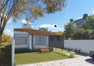 Casa com ampla varanda Gourmet