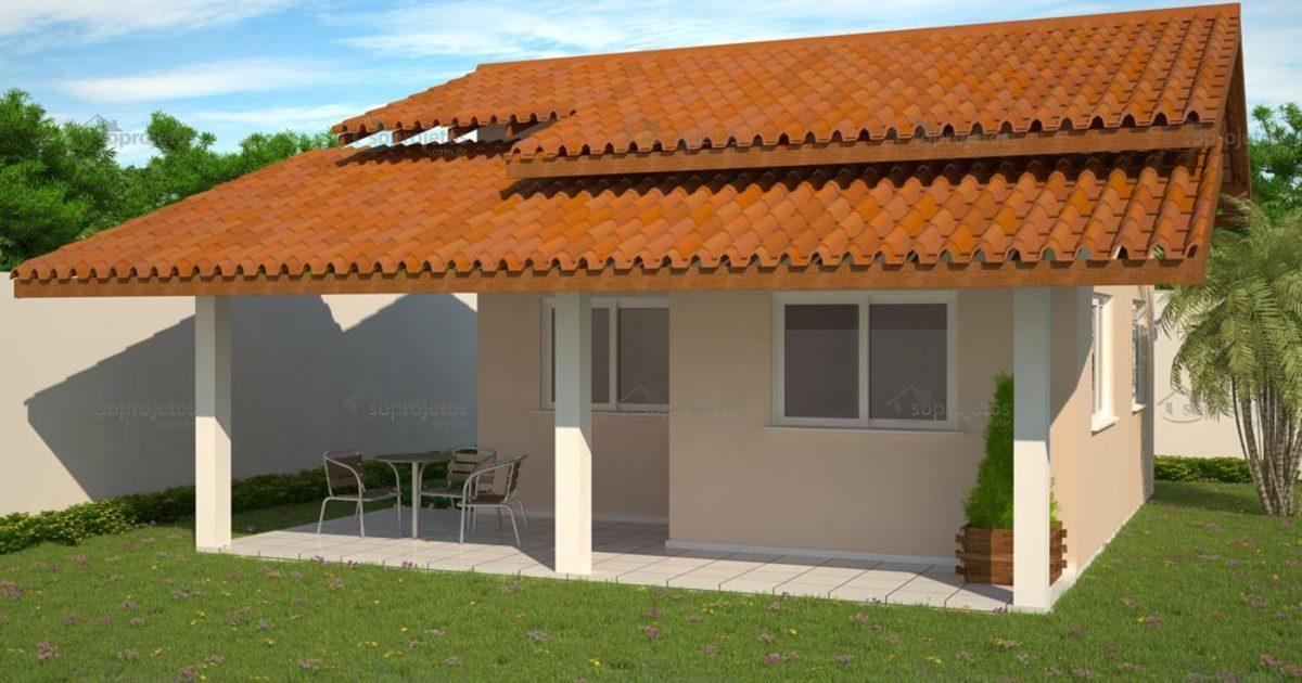 Popular chal 1 quarto c d 52 s projetos - Ideas para construir casas campo ...