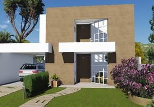 Projeto de Sobrado com 3 suites e garagem